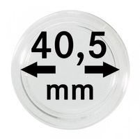 Coin capsules internal Ø 40,5 mm - pack of 10