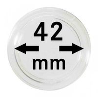 Coin capsules internal Ø 42 mm - pack of 10