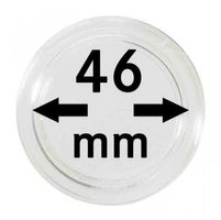 Coin capsules internal Ø 46 mm - pack of 10