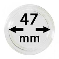 Coin capsules internal Ø 47 mm - pack of 100