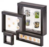 Display frame NIMBUS 70, Inside measurements 70 x 70 x 25 mm, black – Bild 7