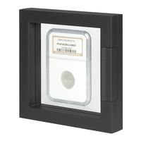 Display frame NIMBUS ECO 100, Inside measurements 100 x 100 x 25 mm, black – Bild 1