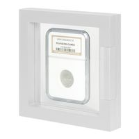 Display frame NIMBUS ECO 100, Inside measurements 100 x 100 x 25 mm, white – Bild 1
