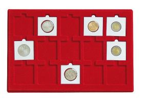 Tray for 15 coin holders 50 x 50 mm Ø  – Bild 1