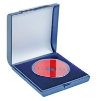 Large Coin Case with capsule, 80 x 80 x 23 mm