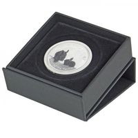 Coin case EXPO-2 for coins up to 60 mm Ø , 80 x 80 x 25 mm – Bild 1