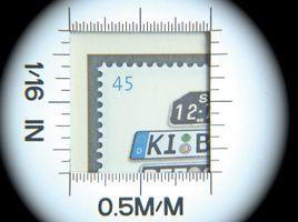 Lente di ingrandimento in alluminio con luce LED applicata, ingrandimento 10x  – Bild 5