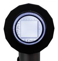 Alu LED-Aufsetzlupe, Vergrößerung 10x – Bild 3