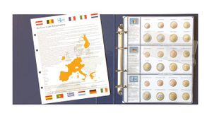 Illustrated album EURO COLLECTION:  coin sets for all  Euro countries  – Bild 1