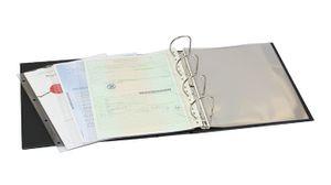 Einsteckblätter A4 glasklar mit 1 Tasche (216 x 300 mm), 10er-Packung – Bild 2