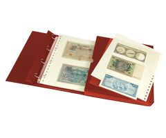 Banknote album ECO, wine red – Bild 3
