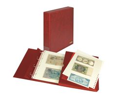 Banknote album ECO, wine red – Bild 1