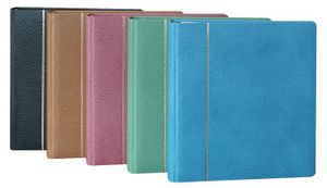 Ring binder EXCLUSIVE LEATHER, blue – Bild 2