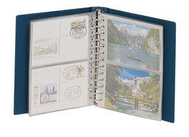 Album CLASSIC pour cartes postales - bleu