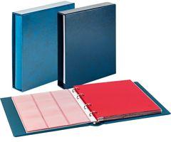Комплект с монетного альбома CLASSIC системы Karat и защитной кассеты, синего цвета – Bild 1