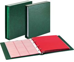 Set karat-Coin-album CLASSIC with protective case-green – Bild 1