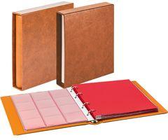 Комплект с монетного альбома CLASSIC системы Karat и защитной кассеты, светло-коричневого  цвета – Bild 1