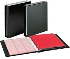 Комплект с монетного альбома CLASSIC системы Karat и защитной кассеты, чёрного цвета – Bild 1