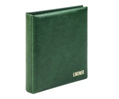 karat - Ring binder CLASSIC whith 4-ring mechanism, empty, green