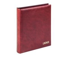 karat - Ring binder CLASSIC whith 4-ring mechanism, empty, wine red