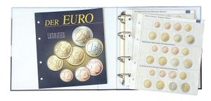 Illustrated album for coin sets: all Euro countries - with protective slipcase  – Bild 2