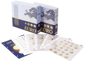 Illustrated album for coin sets: all Euro countries - with protective slipcase  – Bild 1