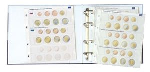 Illustrated album for coin sets: all Euro countries - with protective slipcase  – Bild 3