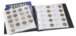 Illustrated album for 2 EURO - commemorative coins Volume 1: All EURO countries (chronologically) – Bild 2