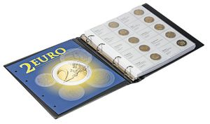 Illustrated album for 2 EURO - commemorative coins Volume 1: All EURO countries (chronologically) – Bild 3