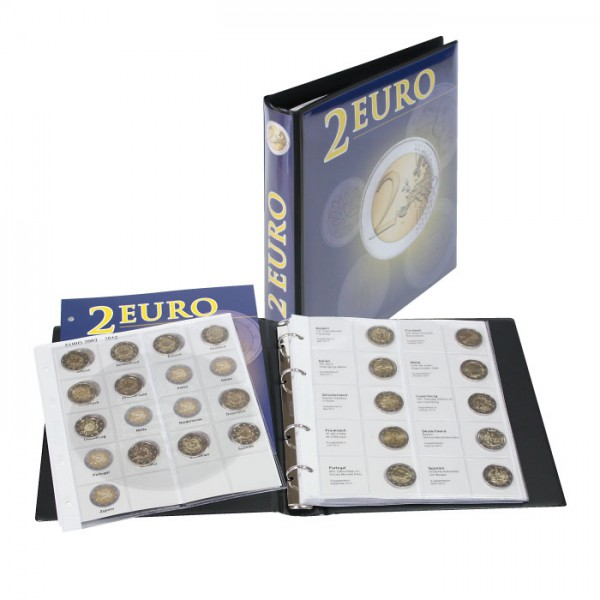 751147b8fd Illustrated album for 2 EURO - commemorative coins Volume 1: All EURO  countries (chronologically
