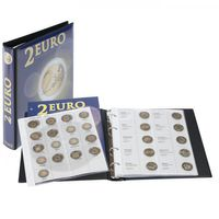 Illustrated album for 2 EURO - commemorative coins Volume 2: All EURO countries (chronologically) – Bild 1