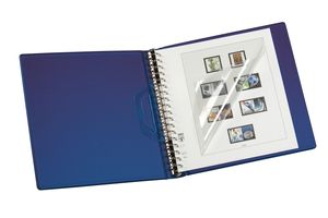 Companion Set: Ring binder REGULAR-CLASSIC + slipcase, blue – Bild 2