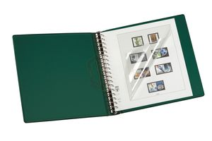 Companion Set: Ring binder REGULAR-CLASSIC + slipcase, green – Bild 2
