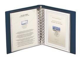 Ensemble: Album CLASSIC pour notices 1er jour avec boîtier de protection - bleu – Bild 2