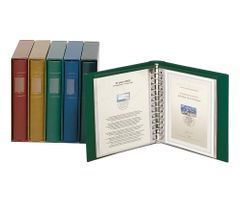 Companion Set: FDC album CLASSIC + slipcase, green – Bild 1