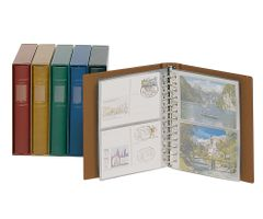 Companion Set: Ring binder CLASSIC + slipcase, tan – Bild 1