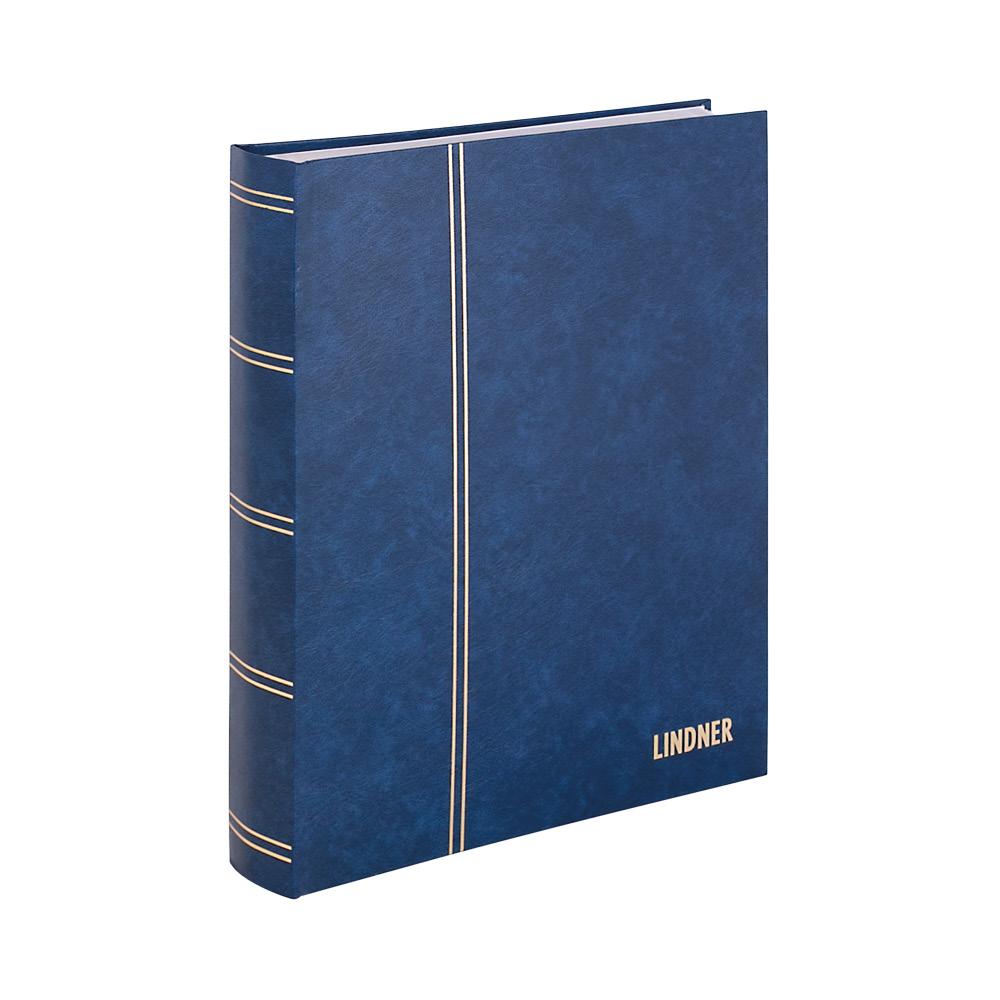 einsteckbuch standard blau unwattiert 48 wei e seiten durchgehende pergamin streifen 230 x. Black Bedroom Furniture Sets. Home Design Ideas