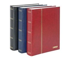"Stockbook ""LUXUS"" with 64 white pages, 230 x 305 x 48 mm, red – Bild 4"