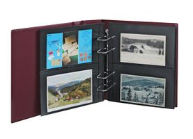 """Multi collect"" ring binder REGULAR, wine red – Bild 3"
