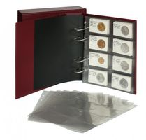 """Multi collect"" ring binder REGULAR, wine red – Bild 4"