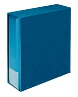 "Companion Set ""Multi collect"": Ring binder 1300 + slipcase 1301, blue – Bild 1"