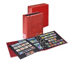 Set Multi collect: Ringbinder REGULAR 1300 mit Schutzkassette 1301-weinrot – Bild 2