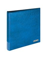 Set: Ring binder RONDO REGULAR, empty, with slipcase - blue – Bild 2