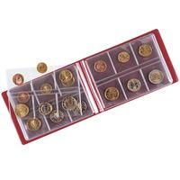 Taschen-Münzalbum für 48 Münzen, 150 x 100 x 18 mm – Bild 3