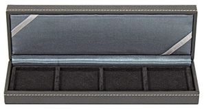 NERA Coin case S with 4 rectangular compartments for coins/coin capsules up to external Ø 52 mm – Bild 6