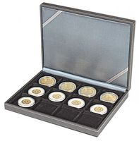 NERA Coin case XM with 12 rectangular compartments for coins/coin capsules up to external Ø 52 mm – Bild 7