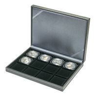 NERA Coin case XM with 12 rectangular compartments for coins/coin capsules up to external Ø 52 mm – Bild 12