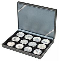 NERA Coin case XM with 12 rectangular compartments for coins/coin capsules up to external Ø 52 mm – Bild 6