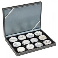 NERA Coin case XM with 12 rectangular compartments for coins/coin capsules up to external Ø 52 mm – Bild 2