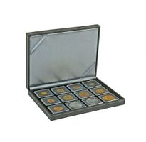 NERA Coin case XM with 12 rectangular compartments for coins/coin capsules up to external Ø 52 mm – Bild 5